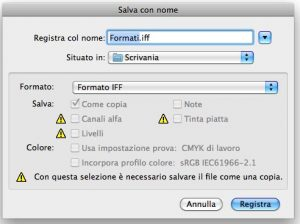 Formato IFF in Photoshop