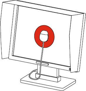 Un dispositivo di misurazione colore per monitor