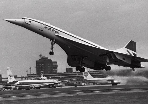 """Il """"glorioso"""" Concorde"""